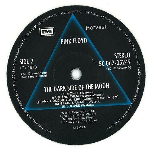Pink Floyd The Dark Side Of The Moon Vinyl Record Lp Dutch